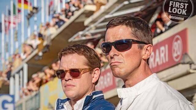 Primeras imágenes de Matt Damon y Christian Bale en Ford v Ferrari