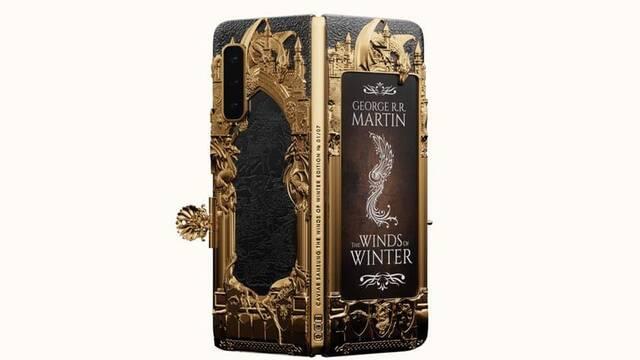 Juego de tronos tiene su propio Samsung Galaxy Fold de 7350 euros