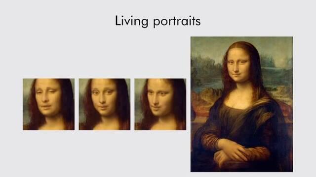 Dando vida a la Mona Lisa: creando movimiento usando sólo una imagen