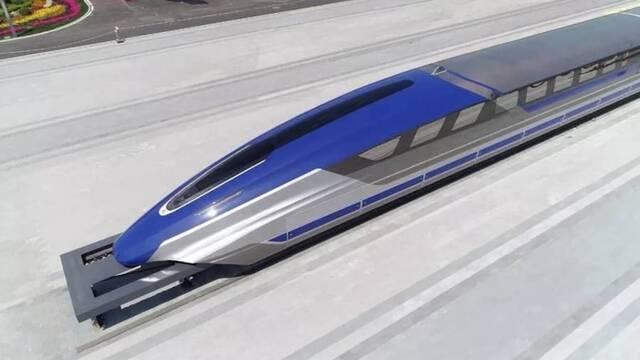 China presenta su tren de alta velocidad Maglev, capaz de alcanzar los 600 km/h