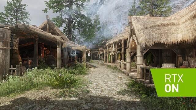 Así se ven Skyrim y Dak Souls 3 con Ray Tracing