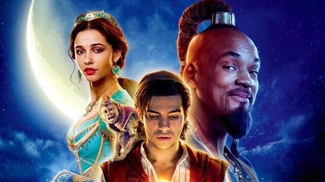 Aladdin encabeza la taquilla española esta semana