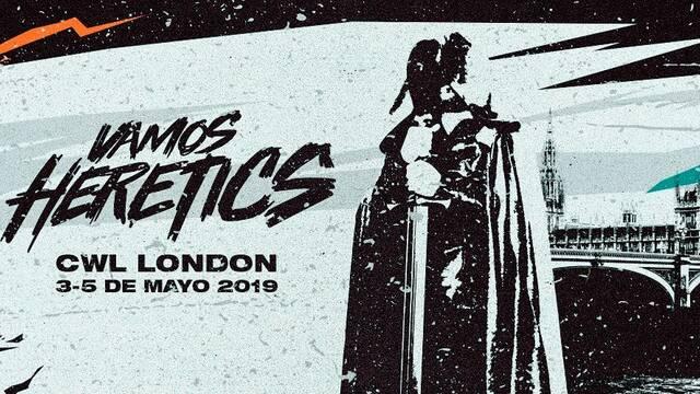 Team Heretics comienza hoy su aventura en el CWL Londres