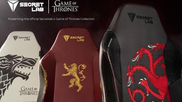 Secretlab anuncia las sillas para gamers de Juego de Tronos