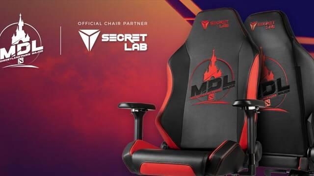 Secretlab diseña una silla oficial para el DOTA 2 MDL Disneyland Paris Major
