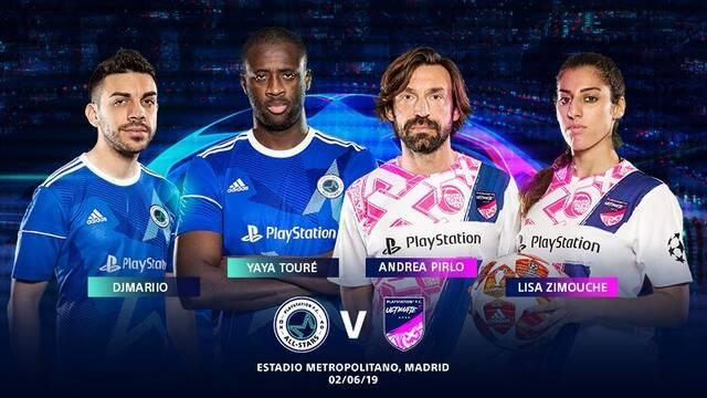 PlayStation anuncia la final de la UEFA Champions League PlayStation FC