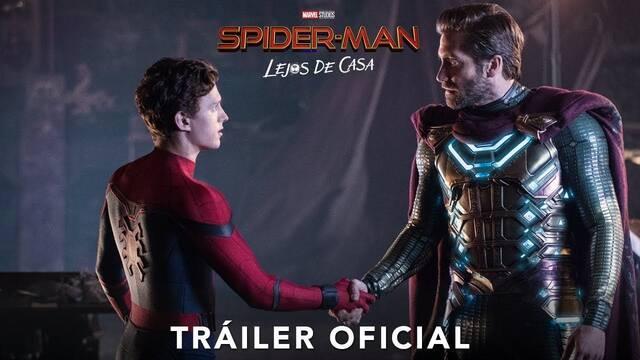 Llega el nuevo tráiler de 'Spider-Man: Lejos de casa'