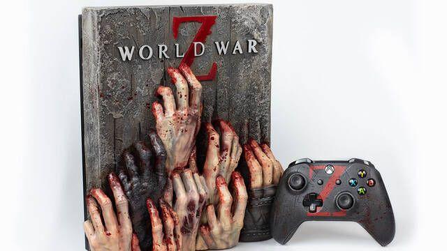 Así es la Xbox One X de World War Z diseñada por Vadu Amka