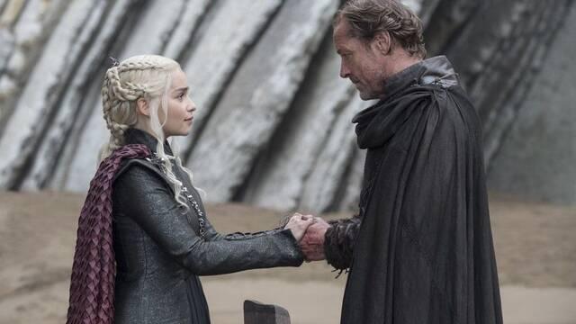 El actor de Ser Jorah Mormont no revela qué le susurró Daenerys