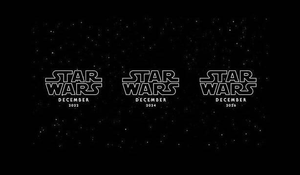 Las nuevas películas de Star Wars llegarán en 2022, 2024 y 2026
