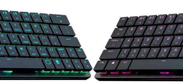 Así es el teclado Bluetooth y mecánico de Cooler Master