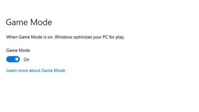 El Modo Juego de Windows 10 está dando algunos problemas de rendimiento a ciertos jugadores
