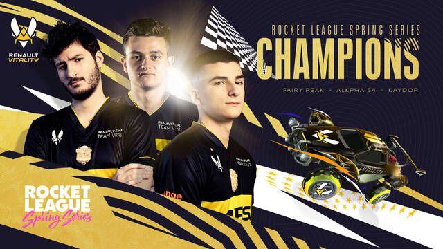 Renault Vitality gana el Rocket League Spring Series Europe