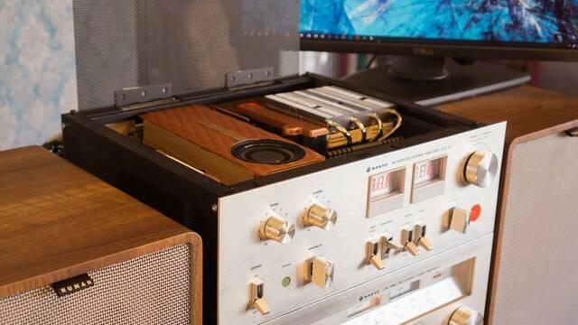 El PC Modding de los viernes: Una 'cadena Hi-Fi' de música hecha PC