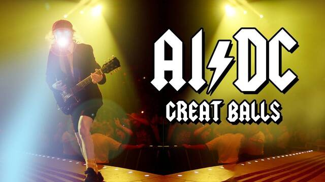 Una IA escribe 'Great Balls', una canción con la que busca imitar a AC/DC