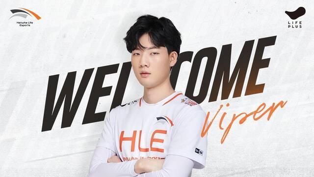 Hanwha Life ficha a Viper para el split de verano de la LCK