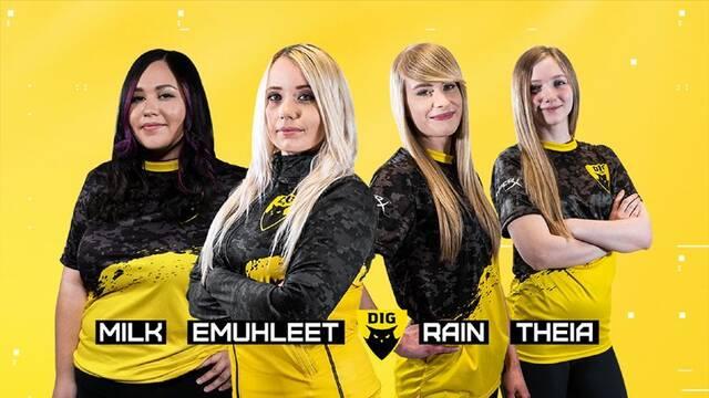 Dignitas Fe, el equipo femenino de Dignitas, competirá en CS:GO y Valorant