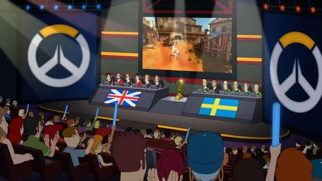 American Dad parodia los mundiales de Overwatch en su último capítulo