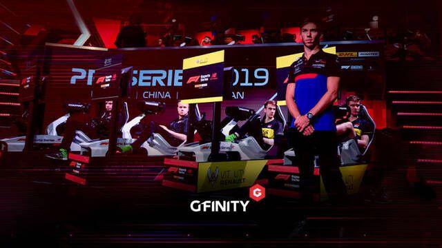 Gfinity extiende su acuerdo con la Fórmula 1 hasta el 2022
