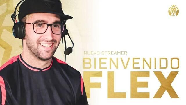 Flexz es el nuevo creador de contenido de MAD Lions