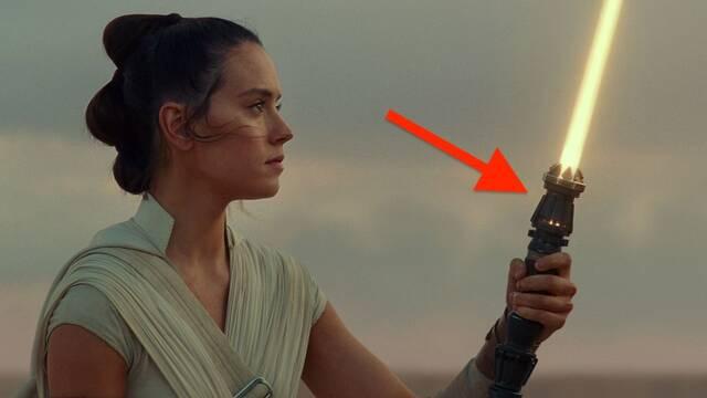 Star Wars: El ascenso de Skywalker iba a contarnos cómo Rey construye su sable láser