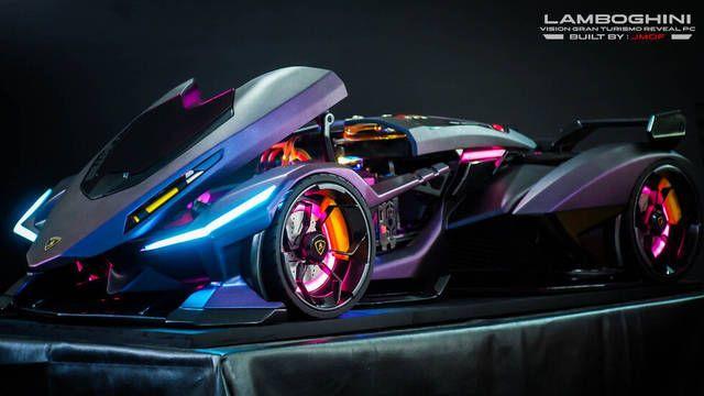El PC Modding de los viernes: Replicando un Lamborghini Vision