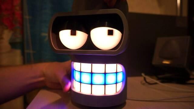 Diseñan un altavoz inteligente con el aspecto y la voz de Bender
