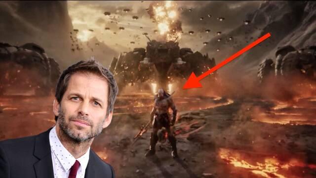 Liga de la Justicia: Darkseid se luce en el Snyder Cut con su primera imagen