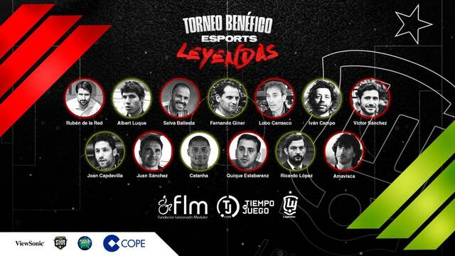 Luque, Iván Campo, Capdevila o el Lobo Carrasco organizan un torneo de esports benéfico