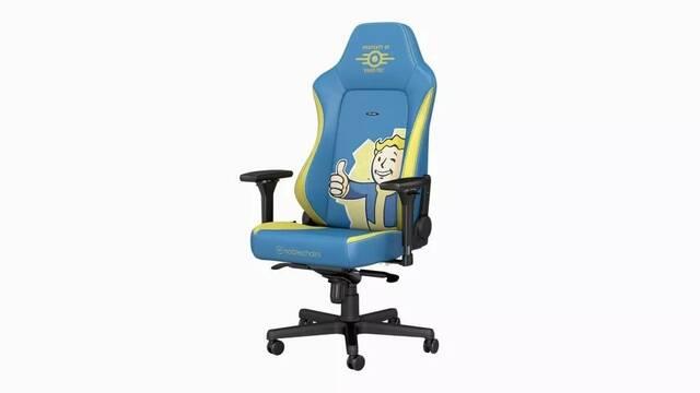 Ya puedes comprar la silla para jugar... de Fallout