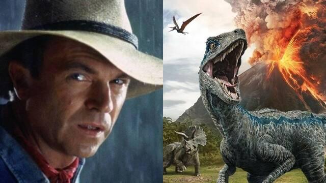 Jurassic World 3: Sam Neill cree que comenzará a rodarse en julio