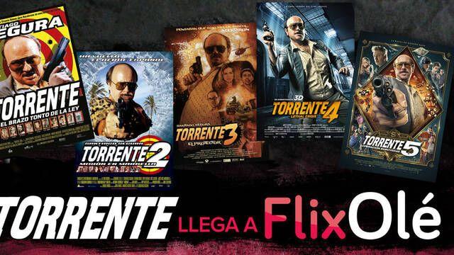 Torrente llega a FlixOlé y la plataforma estrena un ciclo de Santiago Segura