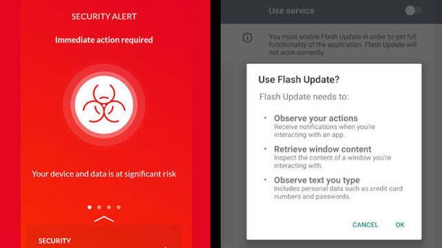 EventBot, el nuevo malware para robar contraseñas bancarias en Android