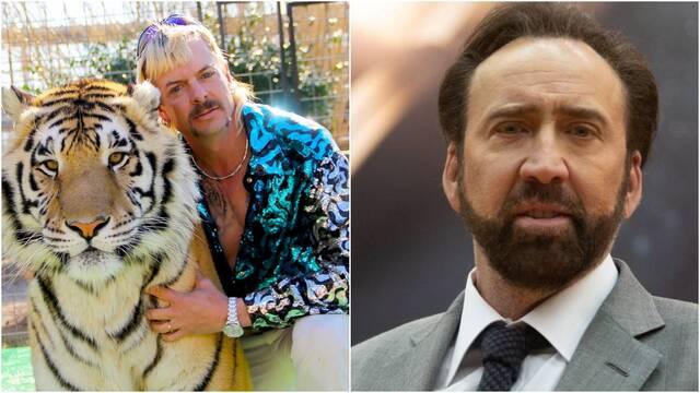 Tiger King: Nicolas Cage será Joe Exotic en una nueva serie