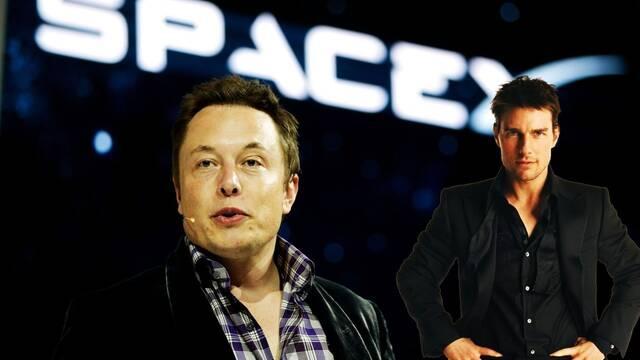 Tom Cruise filmará una película en el espacio con Elon Musk