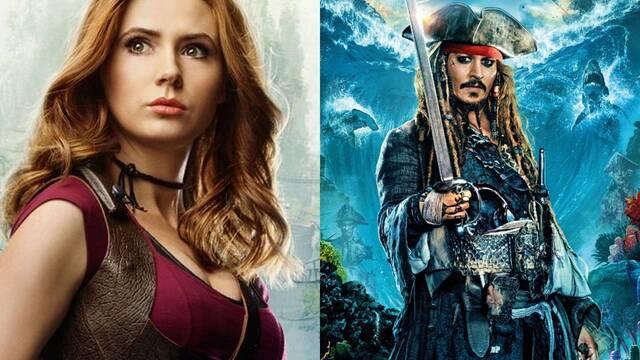 Piratas del caribe: Karen Gillan encabezaría el reinicio de la saga de Disney