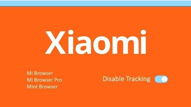 Xiaomi Mi Browser app recopila nuestros datos de navegación de forma predeterminada