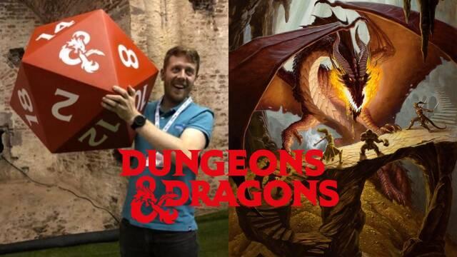 Dragones y Mazmorras: Entrevistamos a Dan Barrett responsable de la licencia en Europa