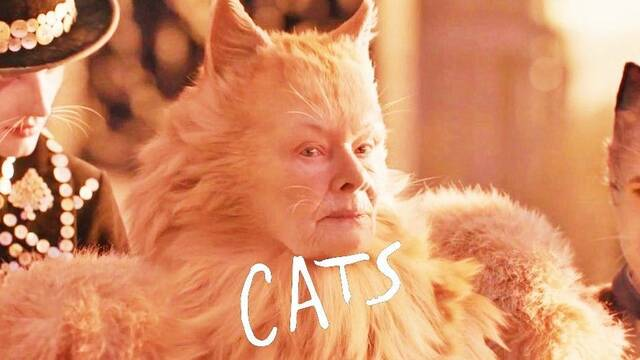 Cats: Judi Dench tiene una particular manera de describir su vestuario