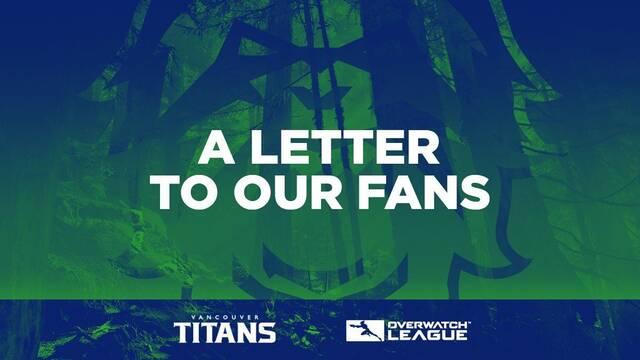 Los Vancouver Titans despiden a todo su equipode la Overwatch League