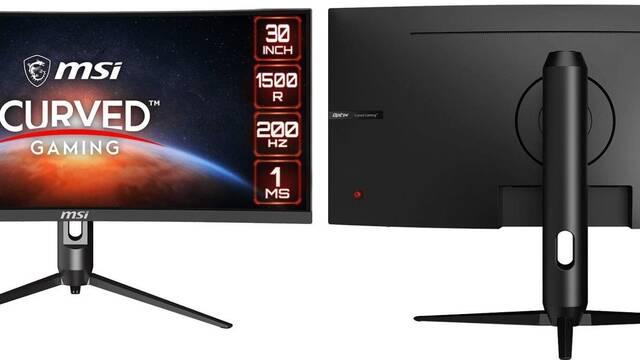 """MSI lanza Optix MAG301CR, monitor curvo de 30"""" y 200 Hz por 350 dólares"""