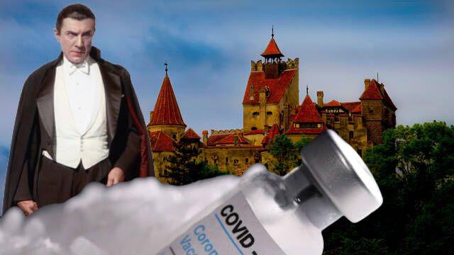 El Castillo de Drácula se convierte en un centro de vacunación contra la COVID-19
