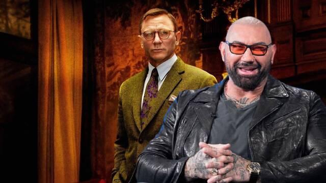 Puñales por la espalda 2: Dave Bautista se suma al reparto con Daniel Craig
