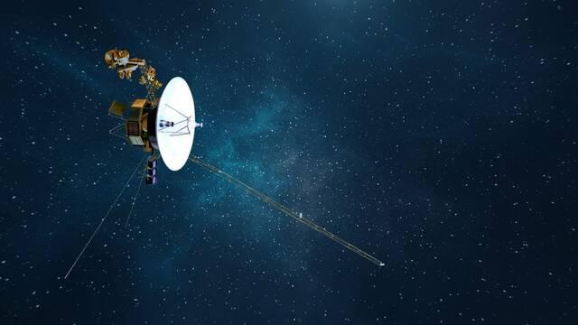 La sonda Voyager 1 escucha un zumbido de plasma en el espacio profundo