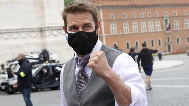 Tom Cruise habla sobre su enfado viral en el set de Misión Imposible 7