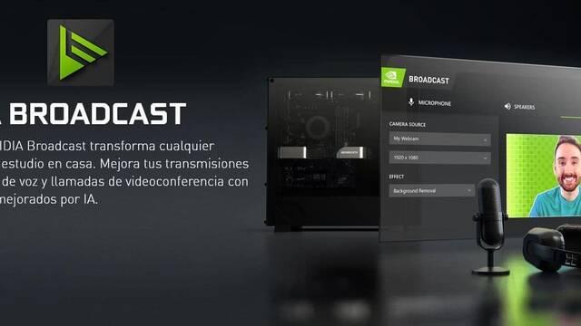 NVIDIA actualiza NVIDIA Broadcast para reducir el ruido de fondo en nuestros streaming