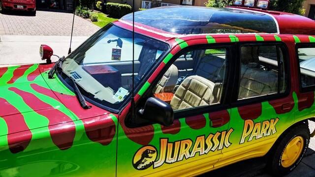 Jurassic Park a lo grande: Así es la réplica real de su mítico coche