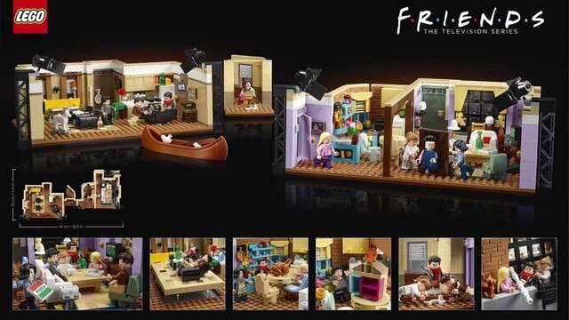 LEGO te invita a recrear tus escenas de Friends con este impresionante set