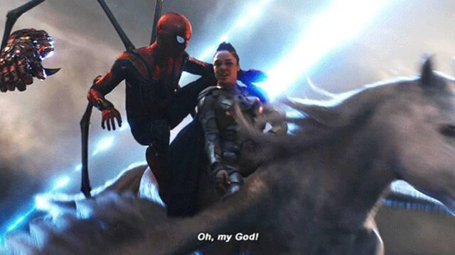 Encuentran un error en la escena de Spider-Man y Valquiria en Vengadores: Endgame
