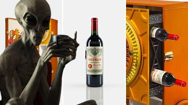 A la venta un exclusivo vino extraterrestre valorado en 830.000 euros